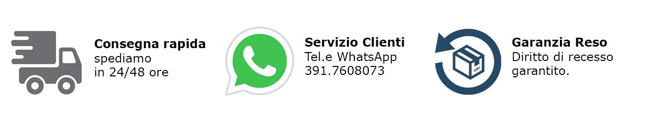 Informazioni e telefoni servizio clienti e reso
